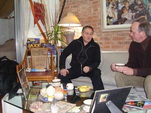 Néstor Astarita y Ricardo Debeljuh